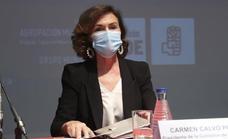 Carmen Calvo: «No tiene sentido que se prohíban los toros»