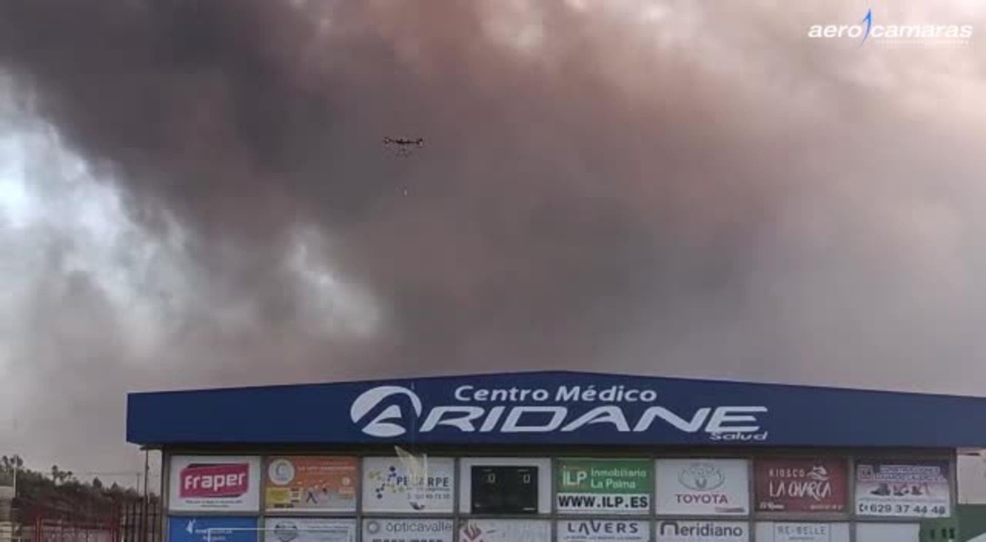 Así es la prueba del rescate de los perros con el dron