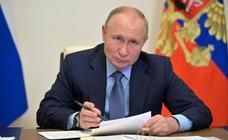 Putin declina viajar a la conferencia del clima de Glasgow