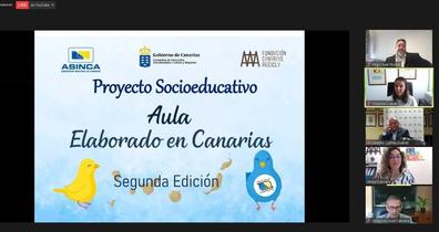 El Aula Elaborado en Canarias premia la sostenibilidad de los Centros Educativos de Canarias