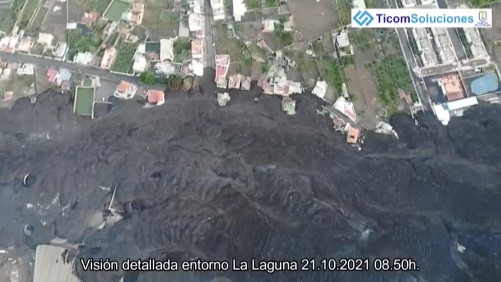 La colada que ha arrasado parte de La Laguna amenaza a otros barrios