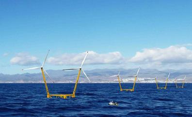 El Cabildo rechaza los nuevos parques eólicos marinos por su impacto visual